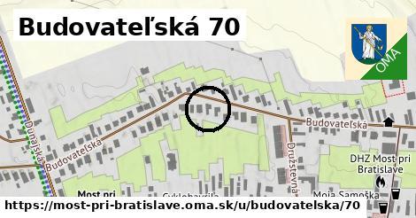 Budovateľská 70, Most pri Bratislave