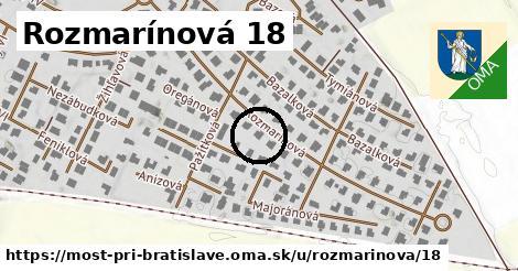 Rozmarínová 18, Most pri Bratislave