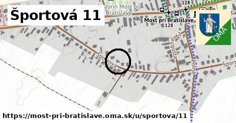 Športová 11, Most pri Bratislave