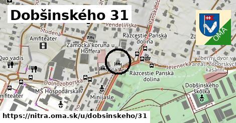 Dobšinského 31, Nitra