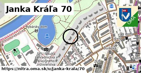 Janka Kráľa 70, Nitra