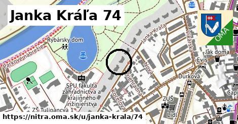 Janka Kráľa 74, Nitra