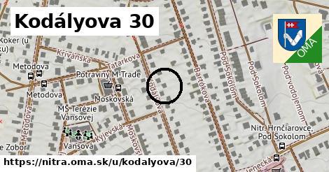 Kodályova 30, Nitra