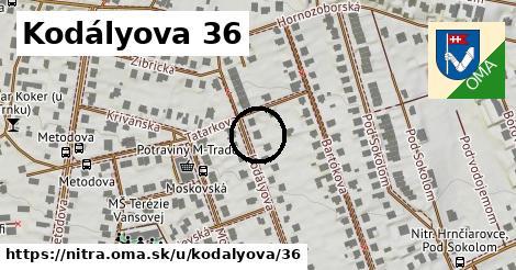 Kodályova 36, Nitra