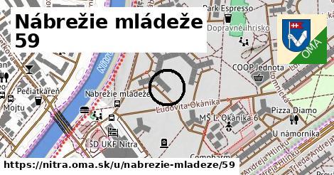 Nábrežie mládeže 59, Nitra