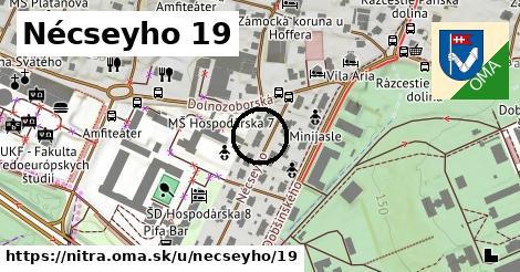Nécseyho 19, Nitra
