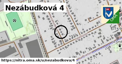 Nezábudková 4, Nitra