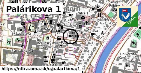 Palárikova 1, Nitra