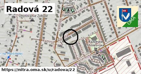 Radová 22, Nitra