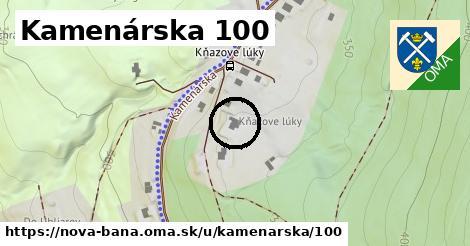 Kamenárska 100, Nová Baňa