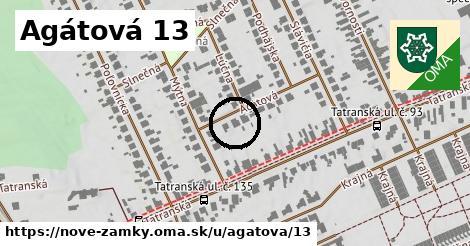 Agátová 13, Nové Zámky