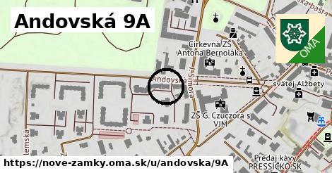Andovská 9A, Nové Zámky