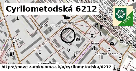Cyrilometodská 6212, Nové Zámky