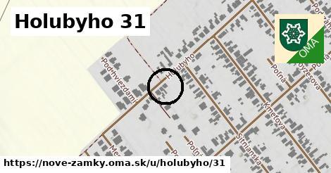 Holubyho 31, Nové Zámky