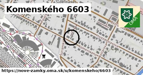 Komenského 6603, Nové Zámky