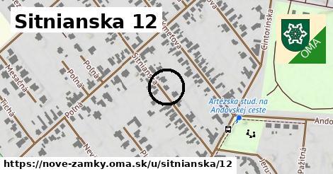 Sitnianska 12, Nové Zámky
