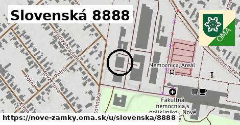 Slovenská 8888, Nové Zámky