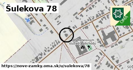 Šulekova 78, Nové Zámky