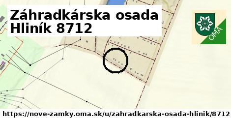 Záhradkárska osada Hliník 8712, Nové Zámky