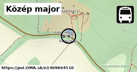 Közép major