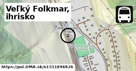 Veľký Folkmar, ihrisko