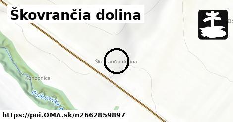 Škovrančia dolina