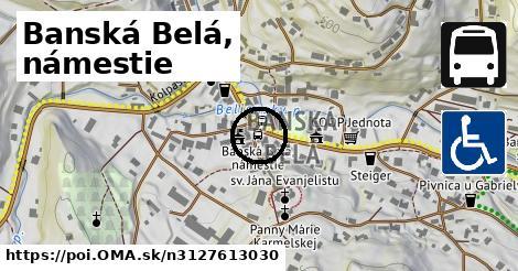 Banská Belá, nám.