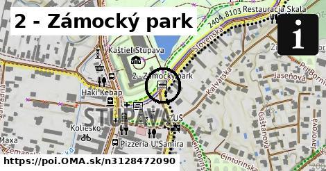2 - Zámocký park