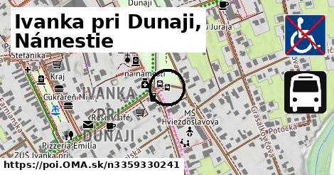 Ivanka pri Dunaji,,nám.