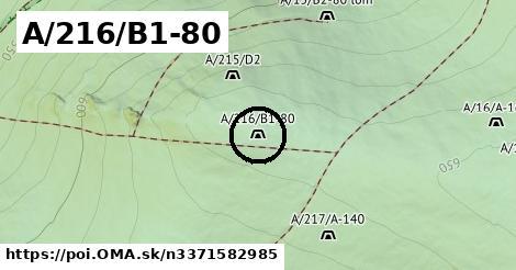 A/216/B1-80