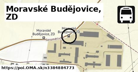Moravské Budějovice, ZD