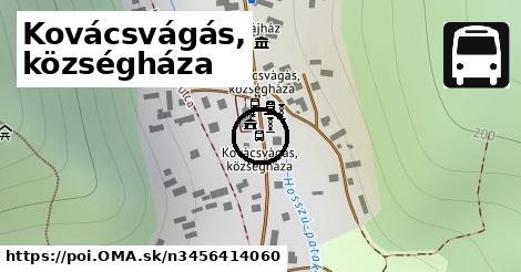 Kovácsvágás, községháza
