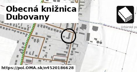 Obecná knižnica Dubovany