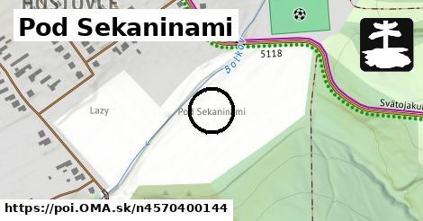 Pod Sekaninami