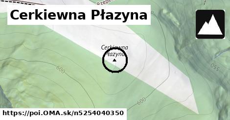 Cerkiewna Płazyna