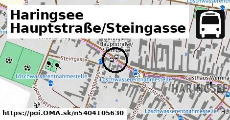 Haringsee Hauptstraße