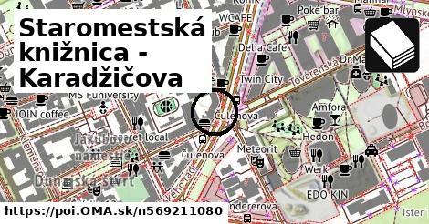 a24172254 Staromestská knižnica - Karadžičova - oma.sk