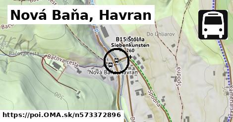 Nová Baňa, Havran