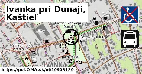 Ivanka pri Dunaji,,kaštieľ