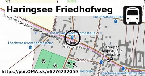 Haringsee Friedhofweg