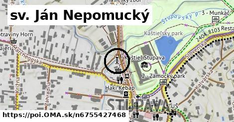 sv. Ján Nepomucký