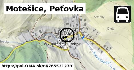 Motešice, Peťovka