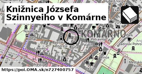 Knižnica Józsefa Szinnyeiho v Komárne