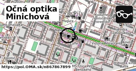 0542f9298 Očná optika Minichová - oma.sk