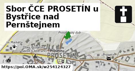 Sbor ČCE PROSETÍN u Bystřice nad Pernštejnem