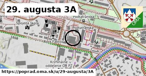 29. augusta 3A, Poprad