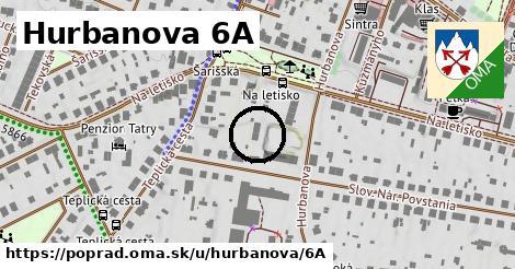 Hurbanova 6A, Poprad