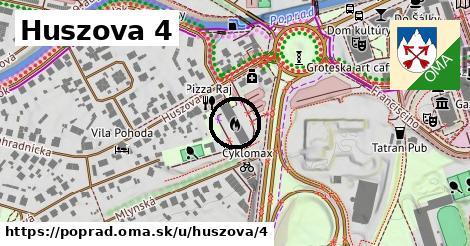 Huszova 4, Poprad