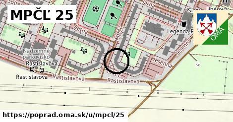 MPČĽ 25, Poprad