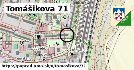 Tomášikova 71, Poprad